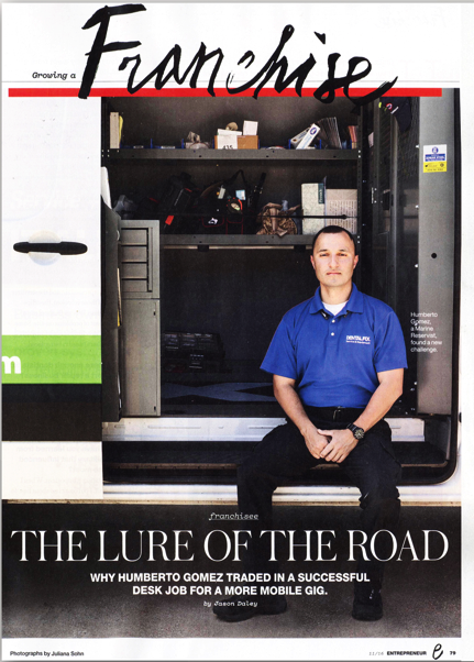 Dental Fix Rx Franchisee Featured in Entrepreneur Magazine