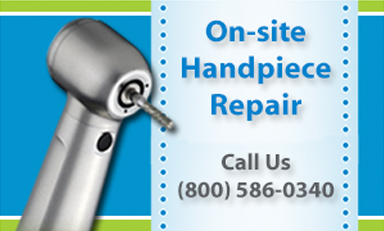 On-site Handpiece Repair